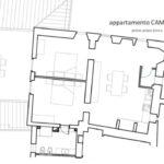 planimetria Camino Ugo Castello di Pratelli