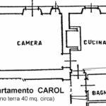 planimetria Carol Castello di Pratelli