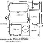 planimetria Stalla Capanni Castello di Pratelli