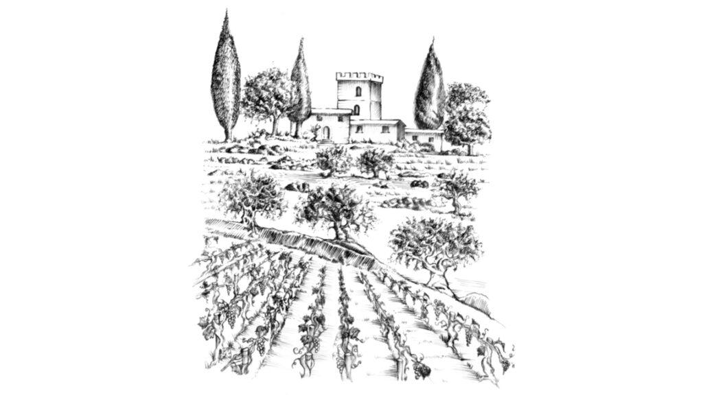 disegno Castello di Pratelli