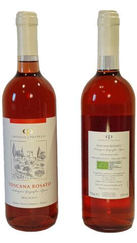 foto vino rosato Castello di Pratelli